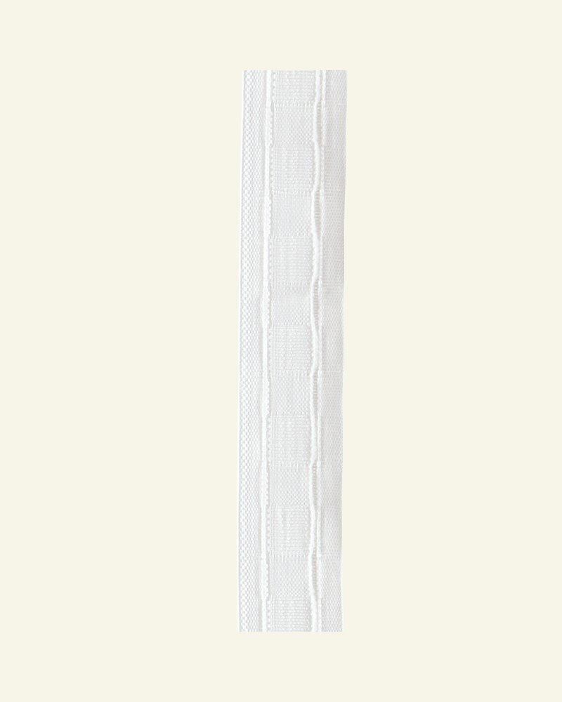 Faltenband 30 mm Soft Weiß 10m