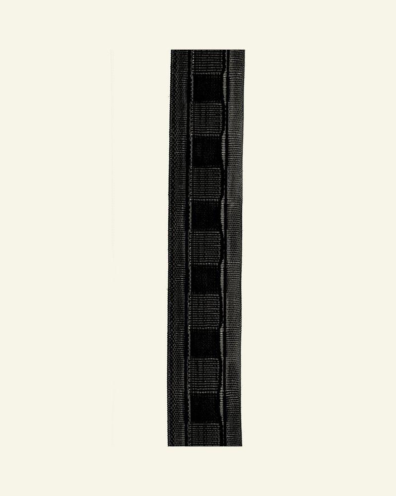 Faltenband 30mm Soft Schwarz 5m
