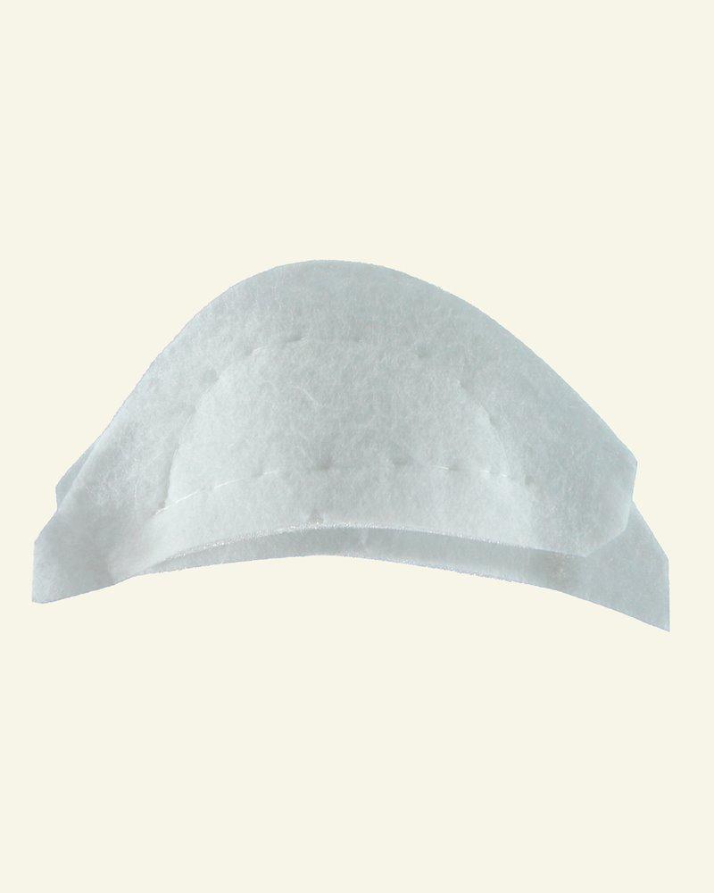 Shoulderpad white narrow 2pcs