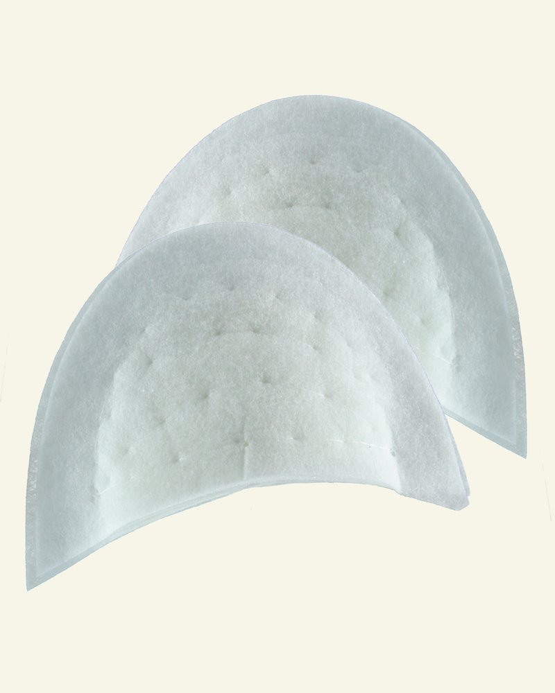 Shoulderpad white universal 2pcs