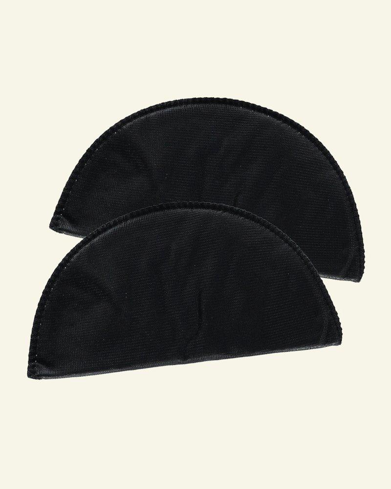 Shoulderpad 85mm narrow soft black 2pcs
