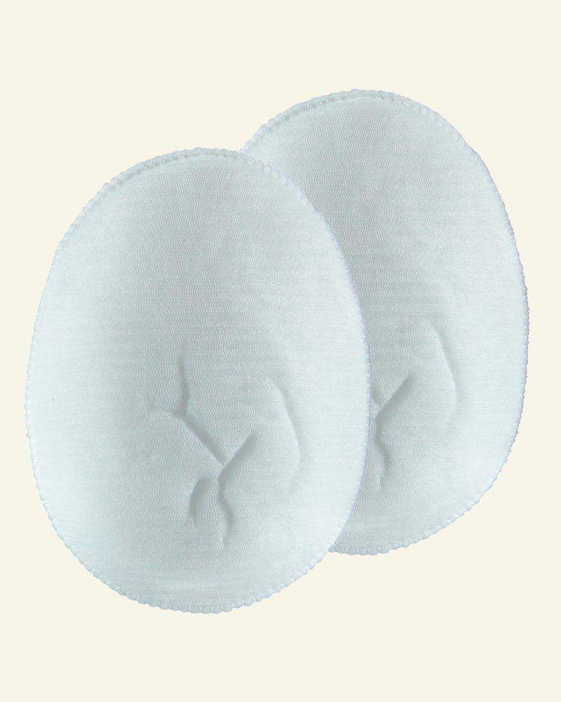 Shoulderpad white soft raglan 2pcs