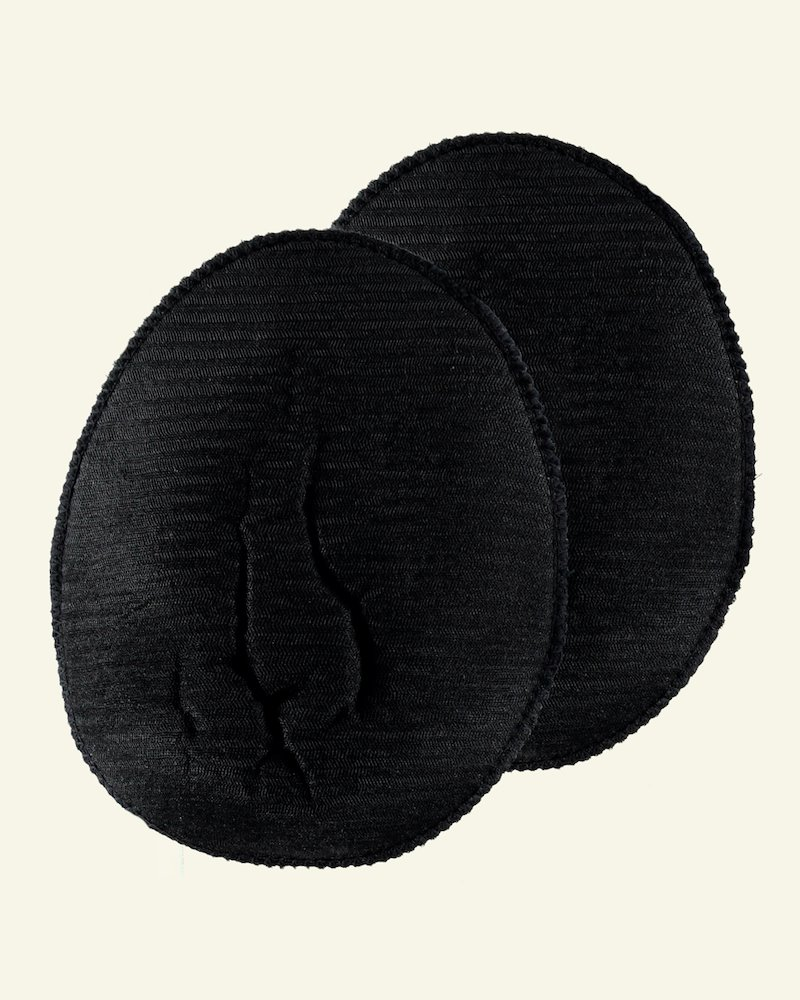 Shoulderpad black soft raglan 2pcs