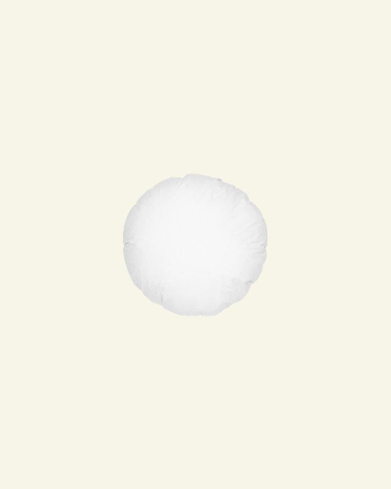 Cushion w/fibre filling Ø40 white