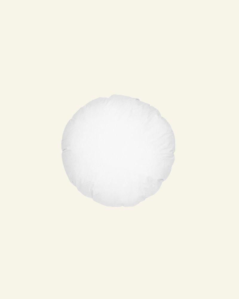 Cushion w/fibre filling Ø55 white