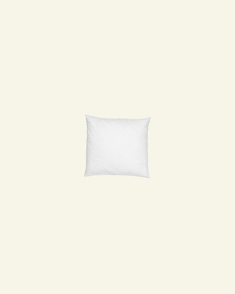 Cushion w/fibre filling 25x25cm white