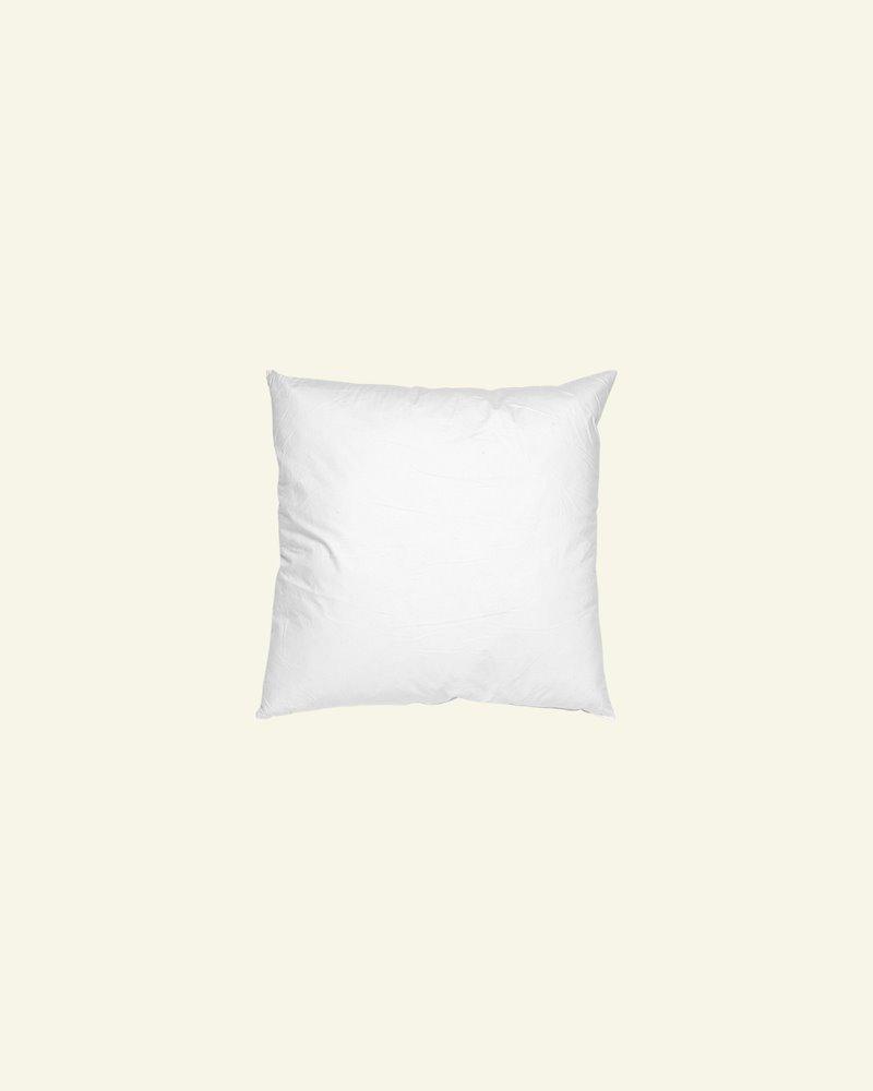 Cushion w/fibre filling 40x40cm white