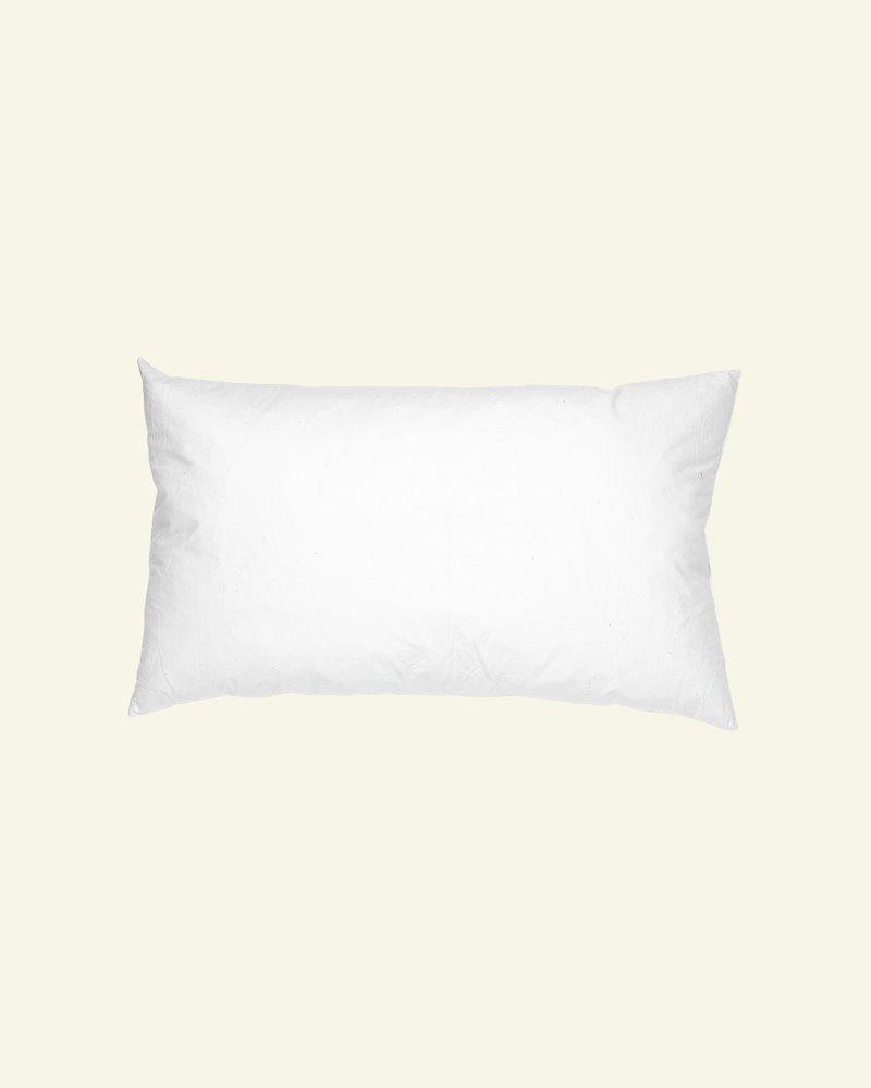 Cushion w/fibre filling 40x80cm white