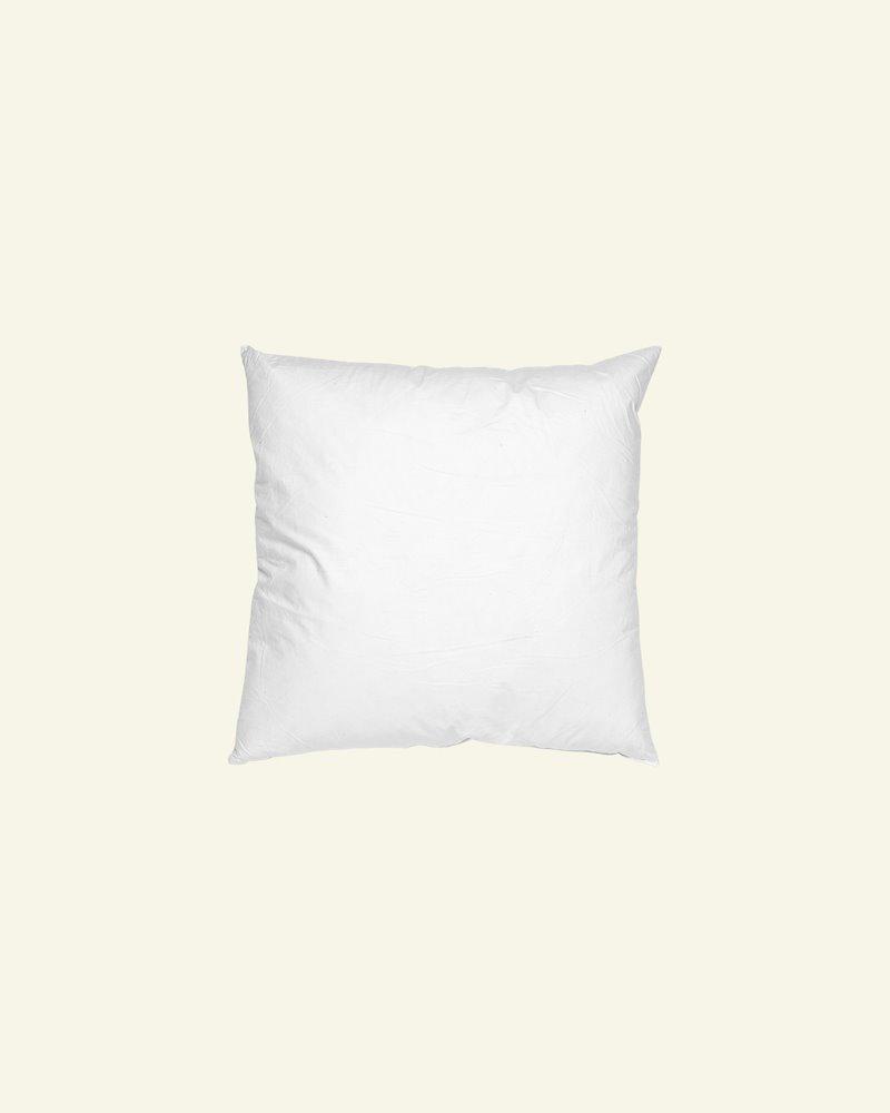 Cushion w/fibre filling 50x50cm white