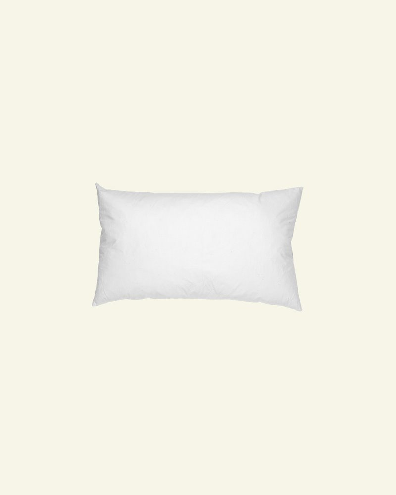 Cushion w/fibre filling 35x60cm white