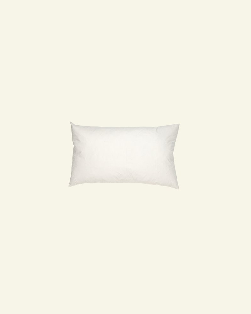 Cushion w/nature filling 25x40cm creme