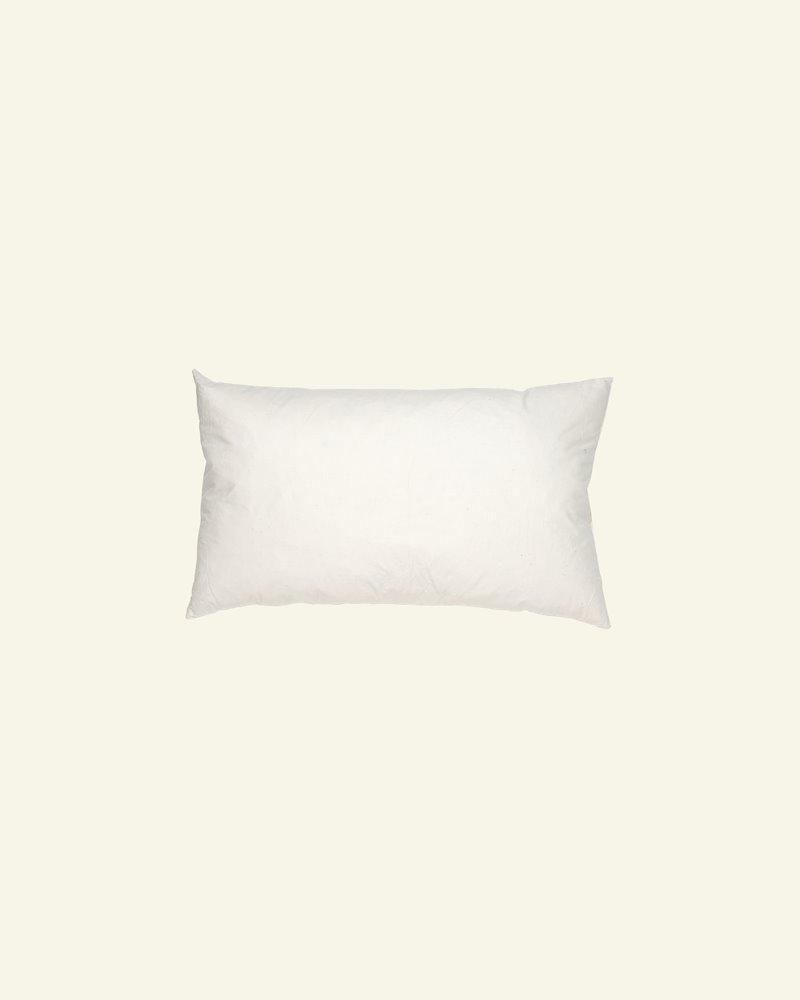 Cushion w/nature filling 60x35cm creme