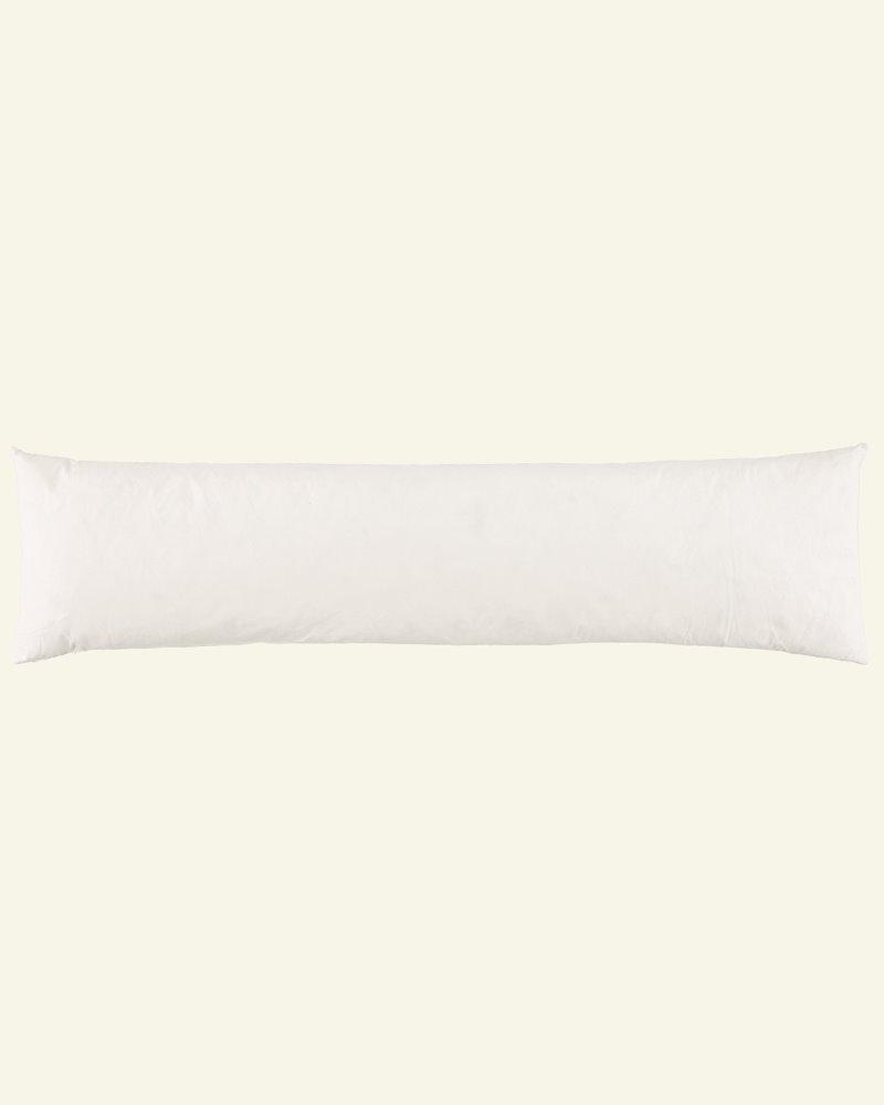 Cushion w/nature filling 23x90cm creme