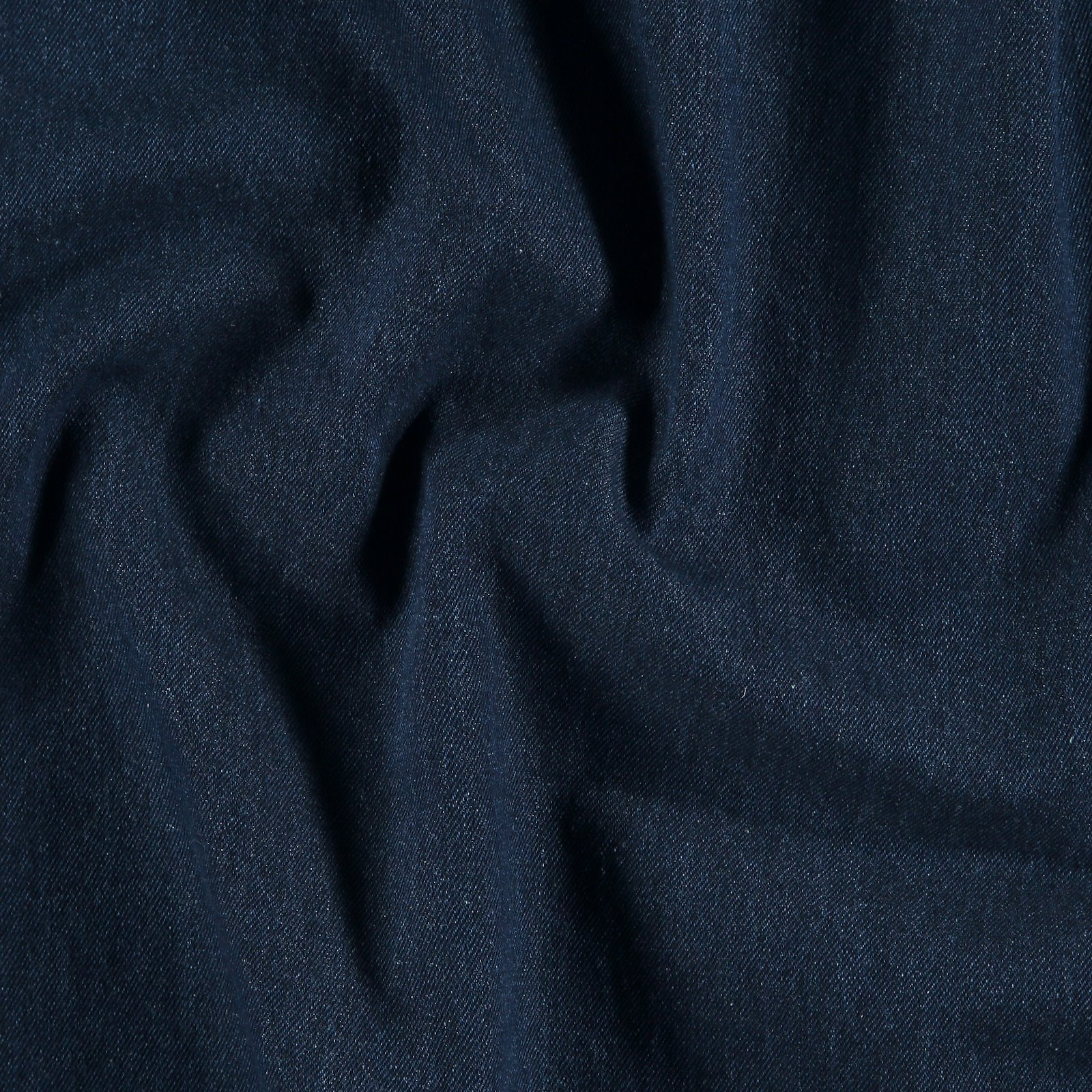 Soft washed denim dark blue 10oz