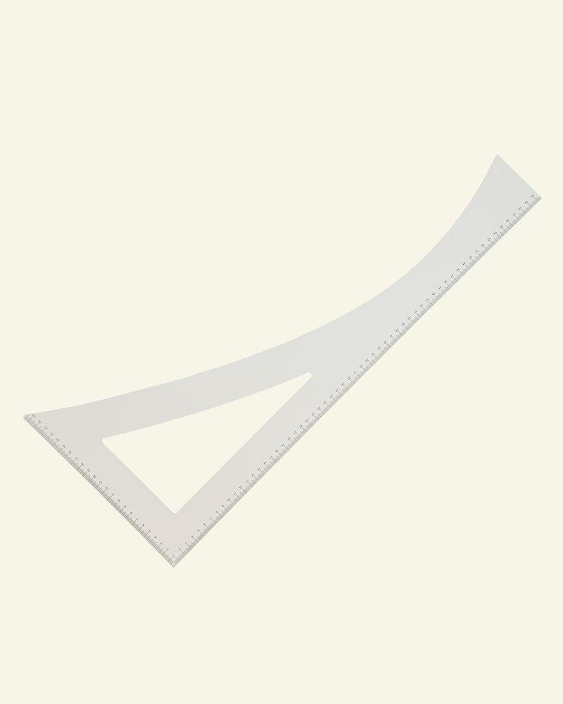 Tailor's ruler 60x25cm