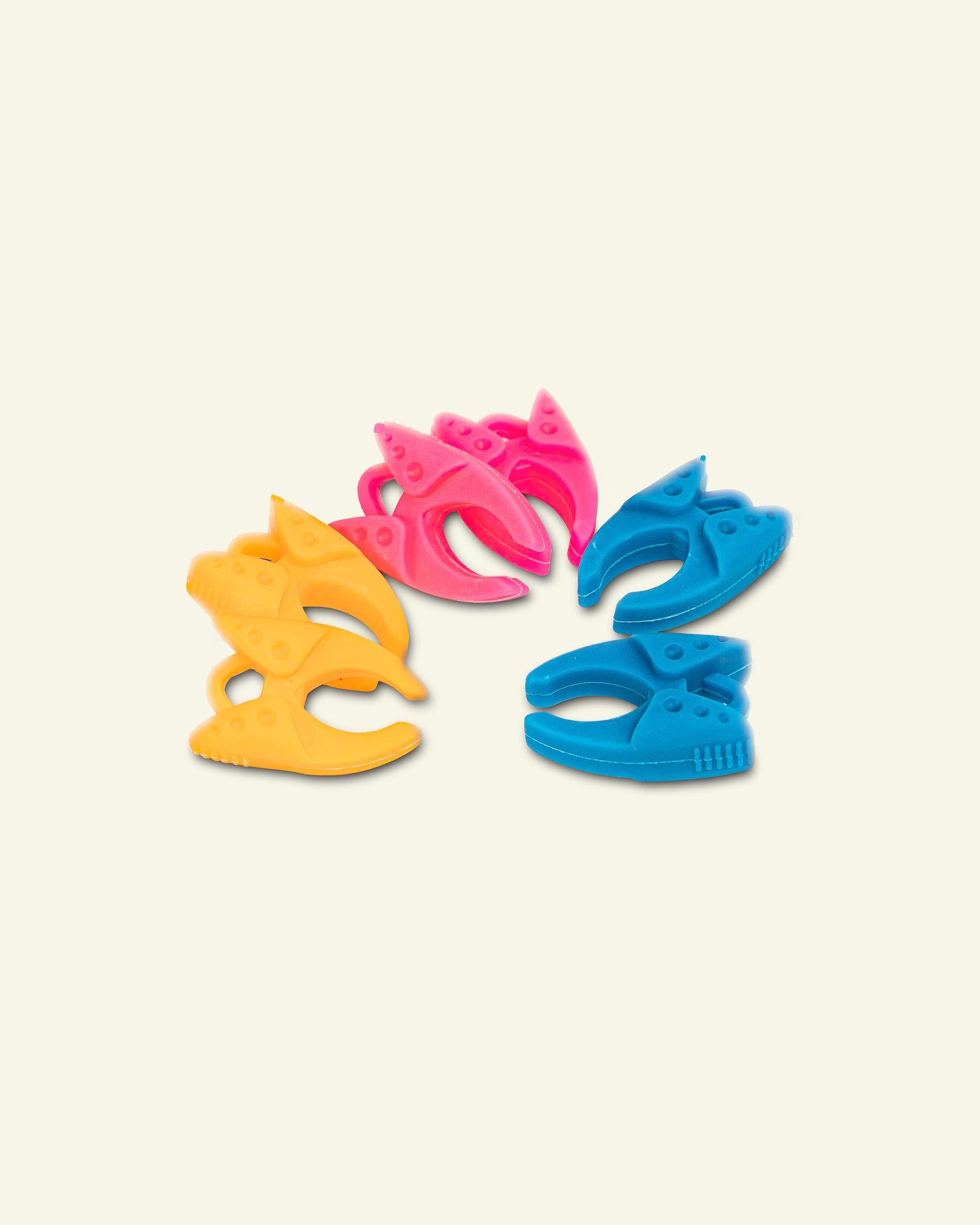 Bobbin clamp ass. colours 6 pcs