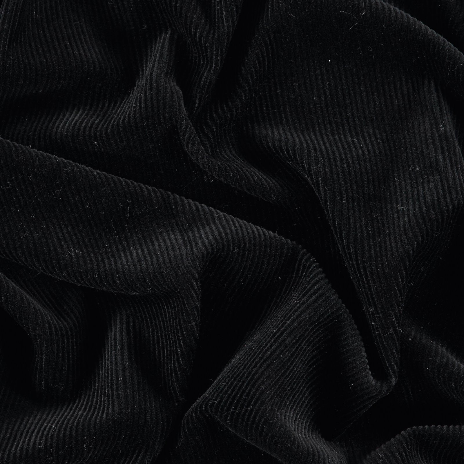Corduroy 8 wales black