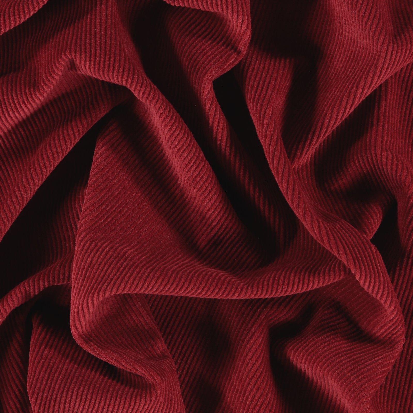 Corduroy 8 wales dark red