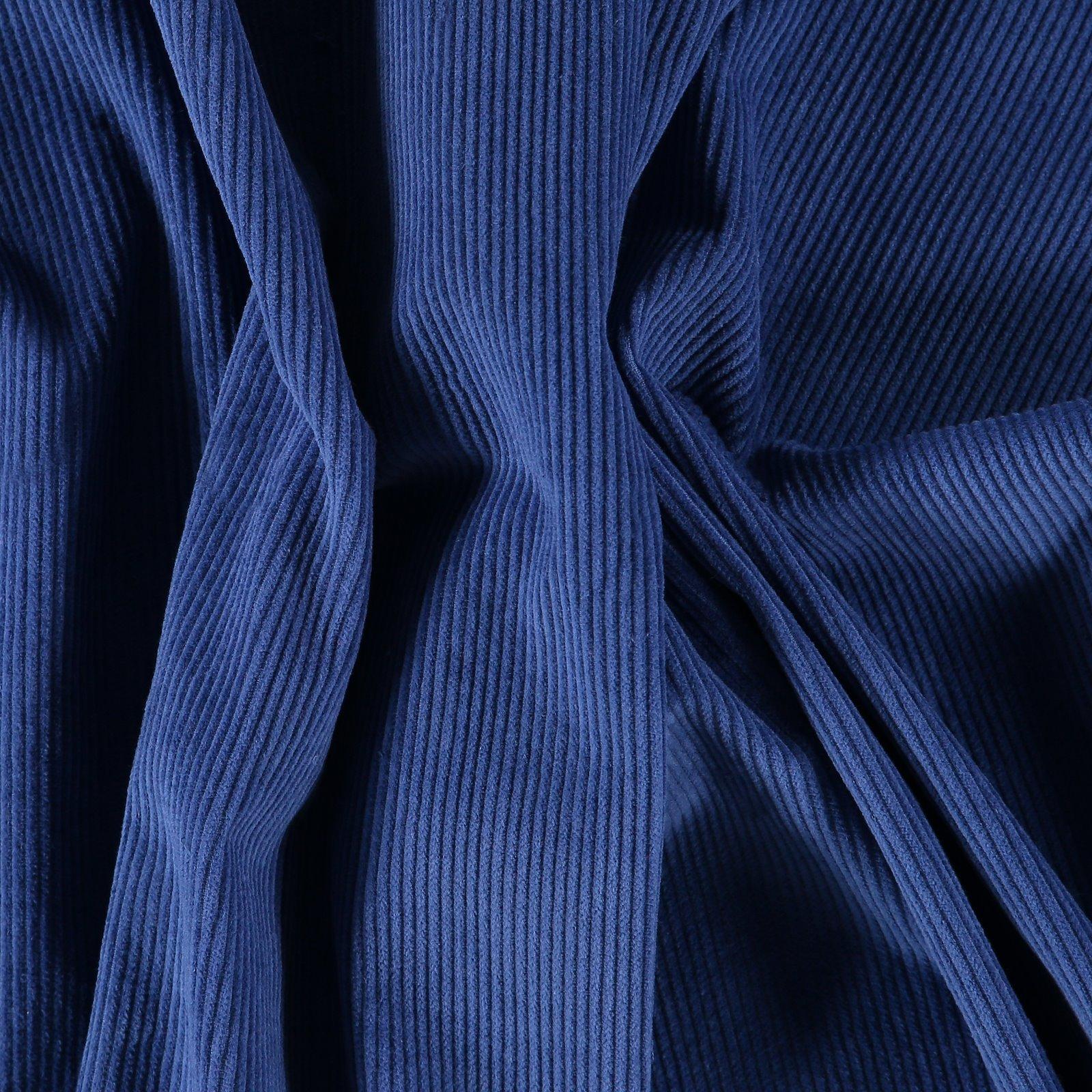 Corduroy 8 wales dark cobalt blue