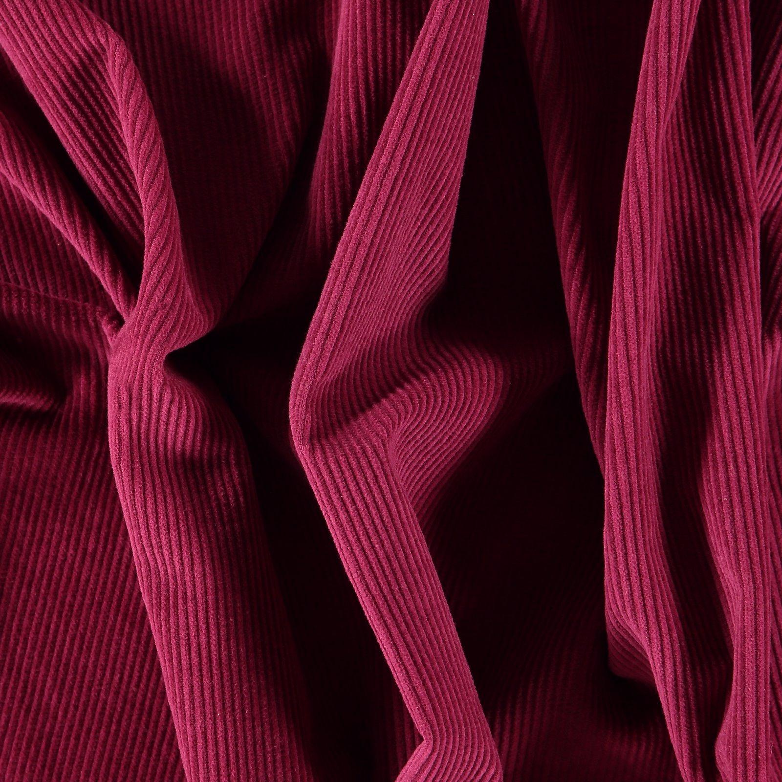 Corduroy 8 wales dark pink