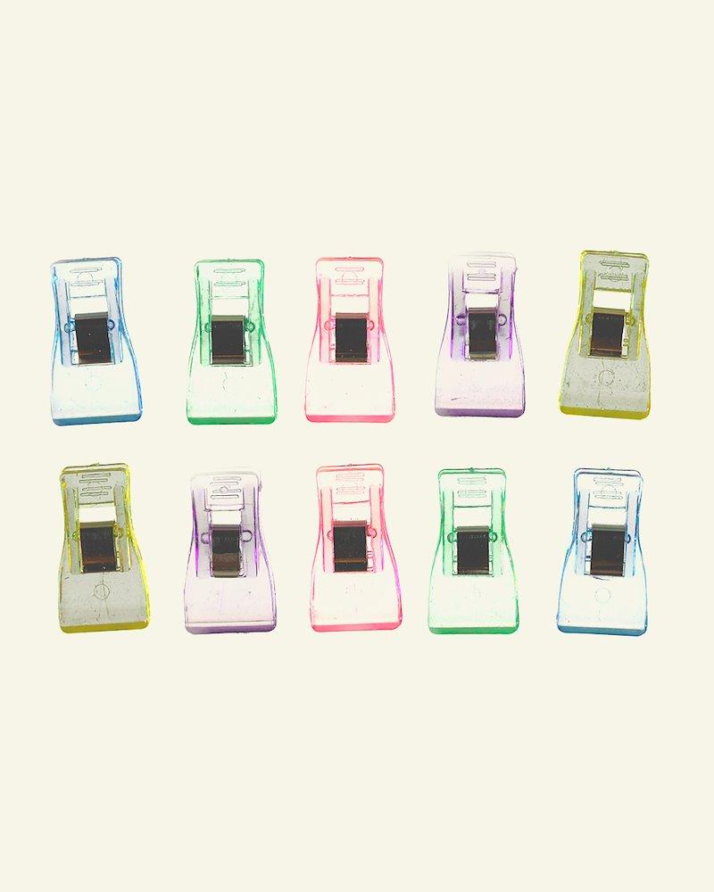 Wonder clips 35x18mm 5 colors 10 pcs
