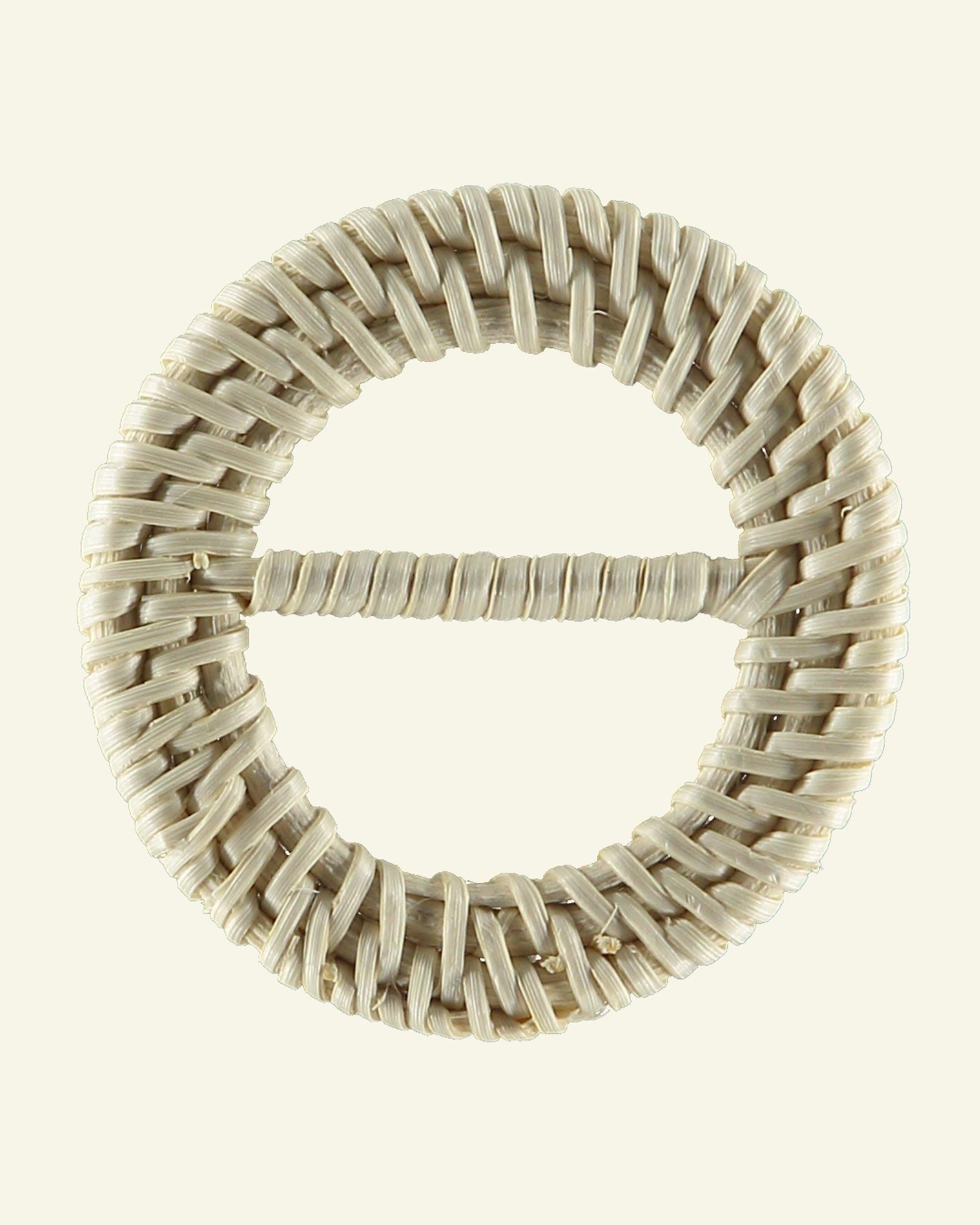 Belt buckle round appr. 60/40mm 1pc