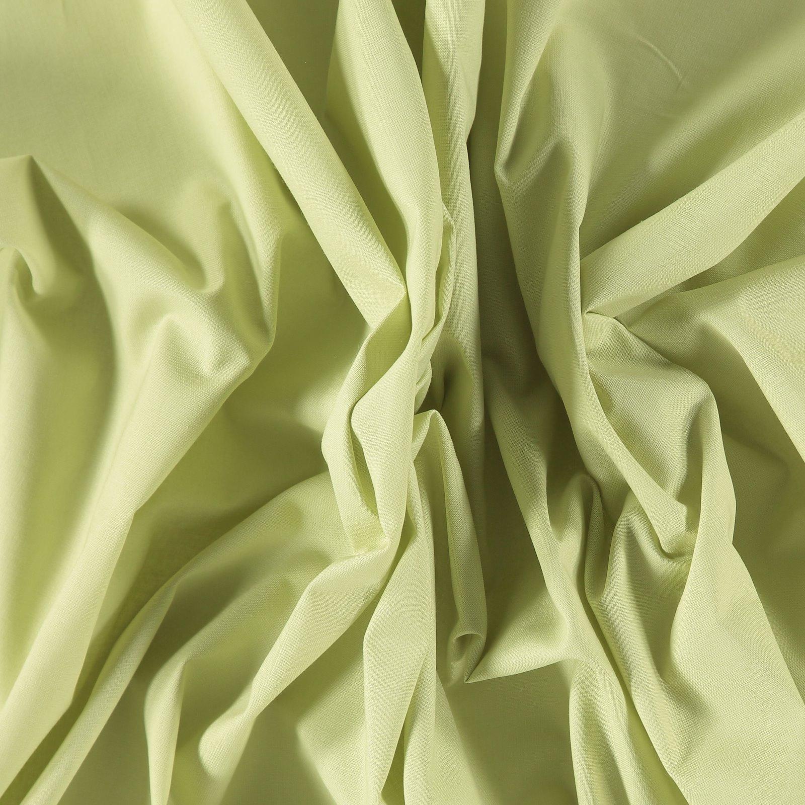 Luxury cotton light lemon