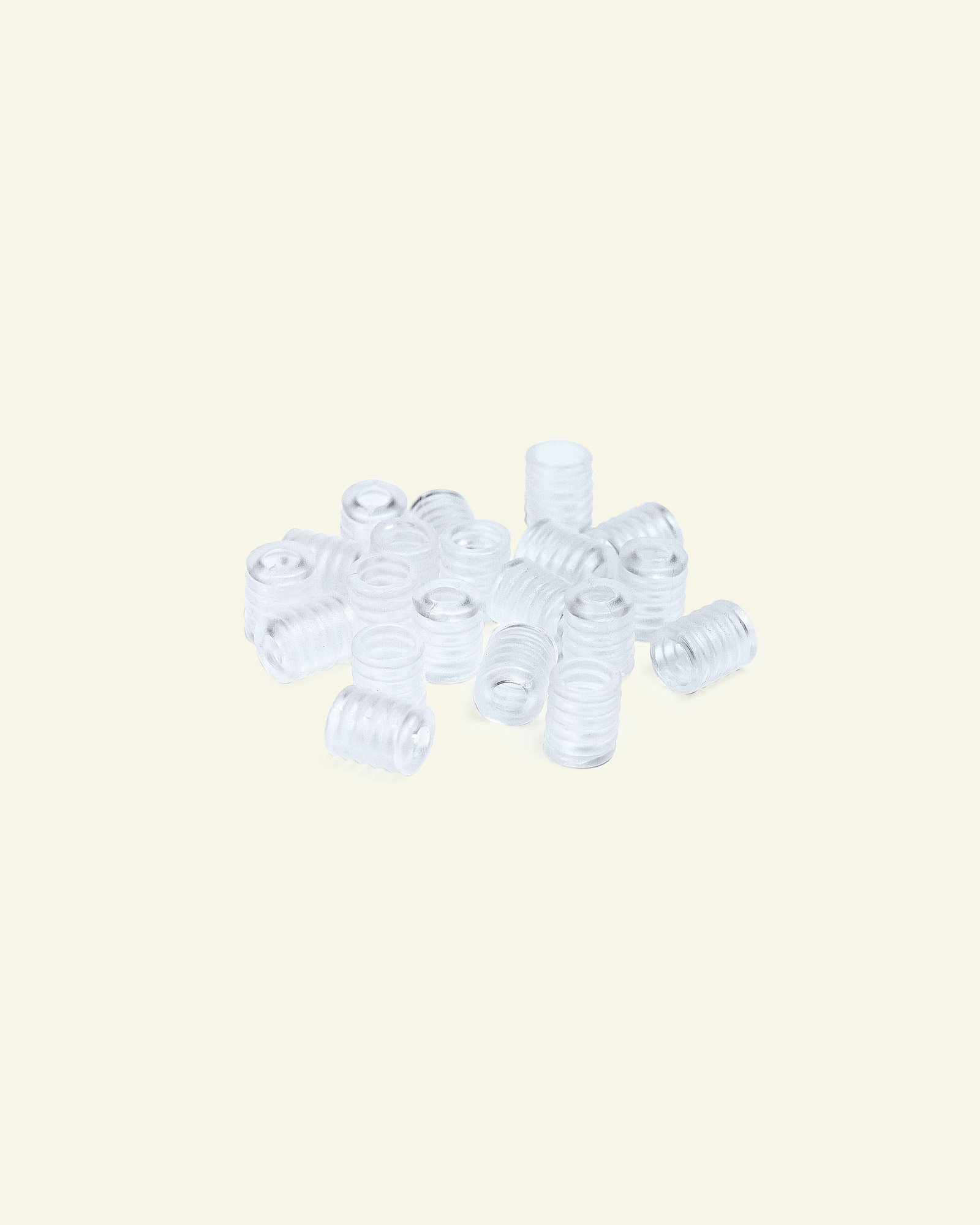 Schnurregulator 9x8mm transparent, 20St