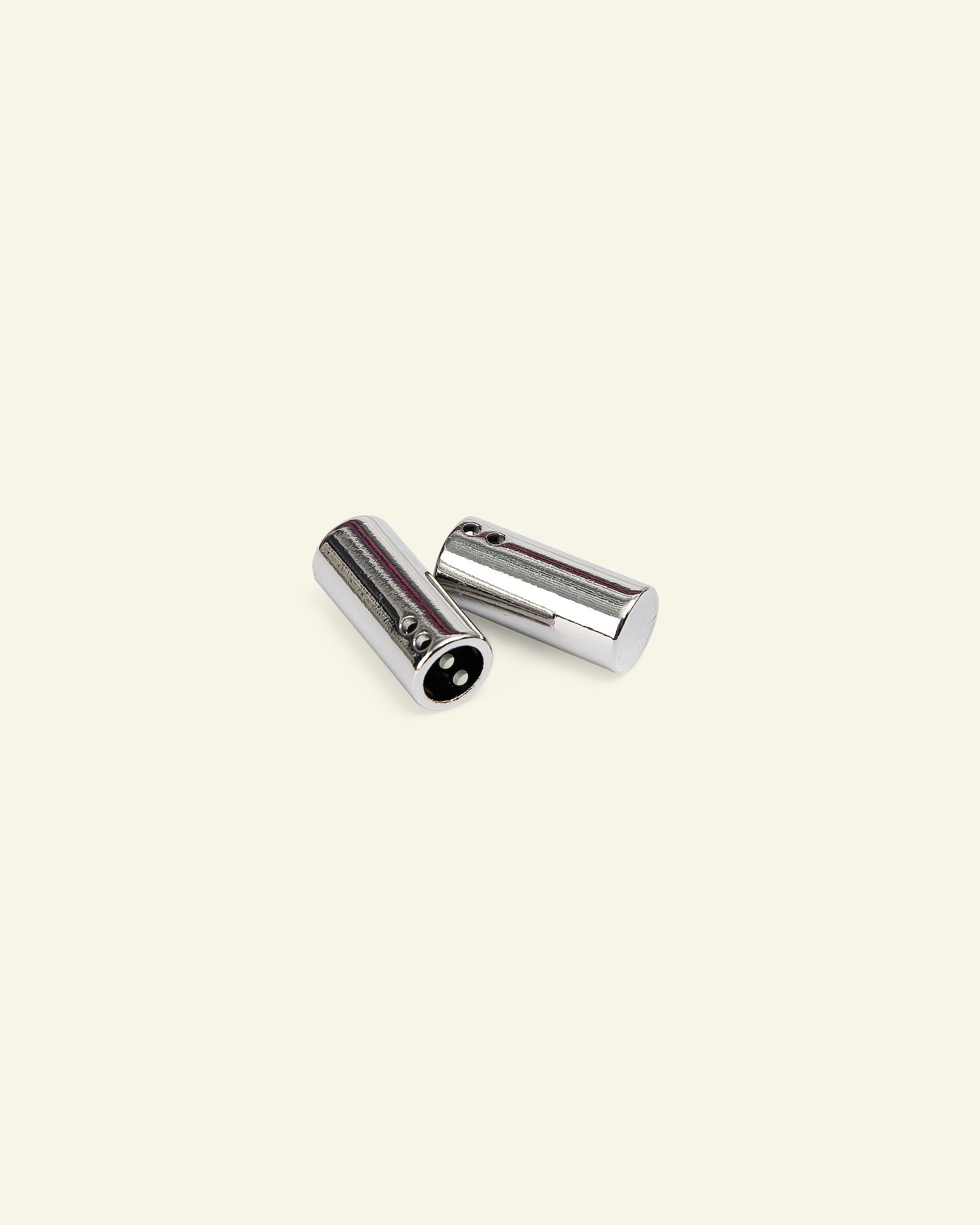 Toggles metal 23x10mm silver 2pcs