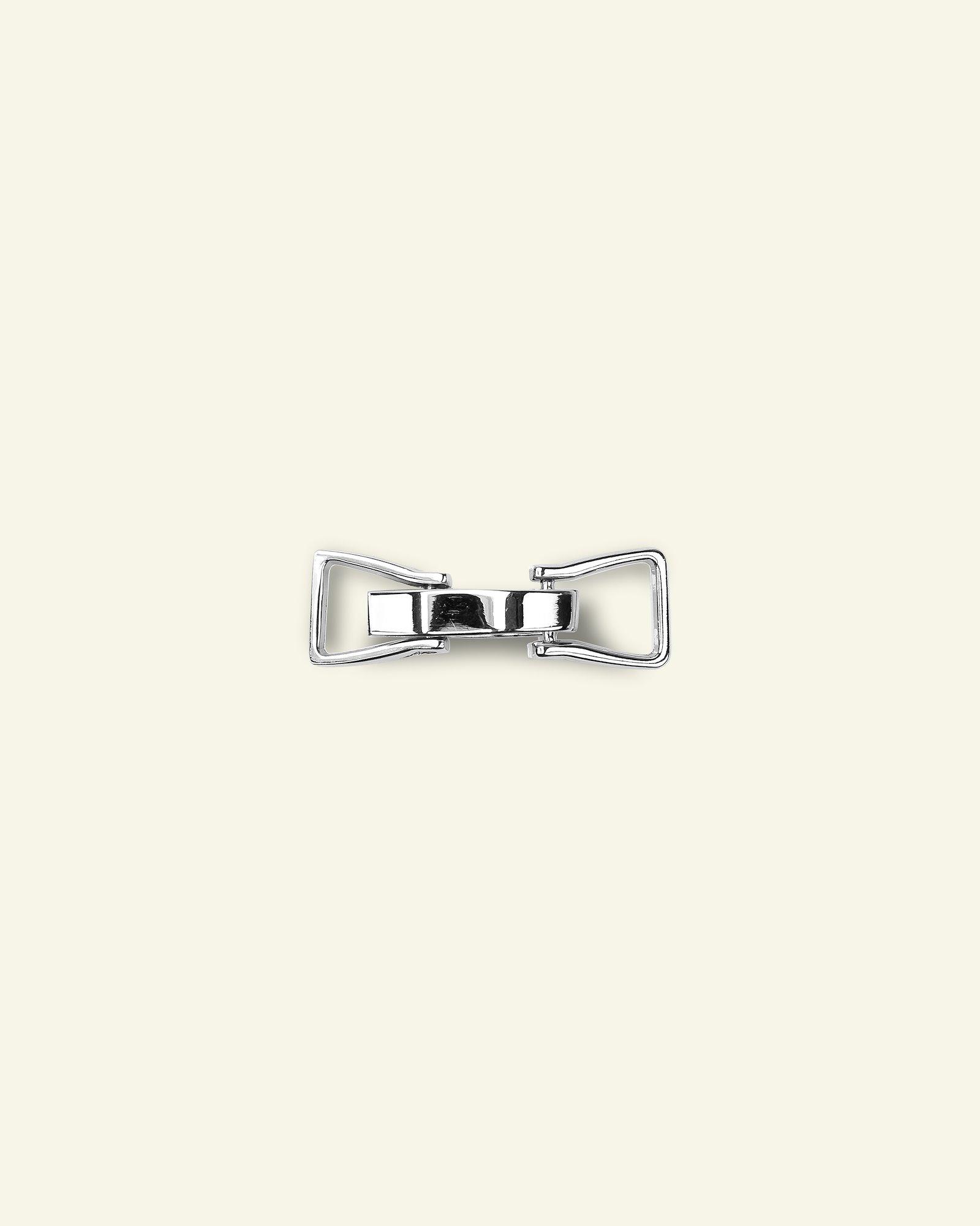 Toggle fastener metal 19x55mm silver 1pc