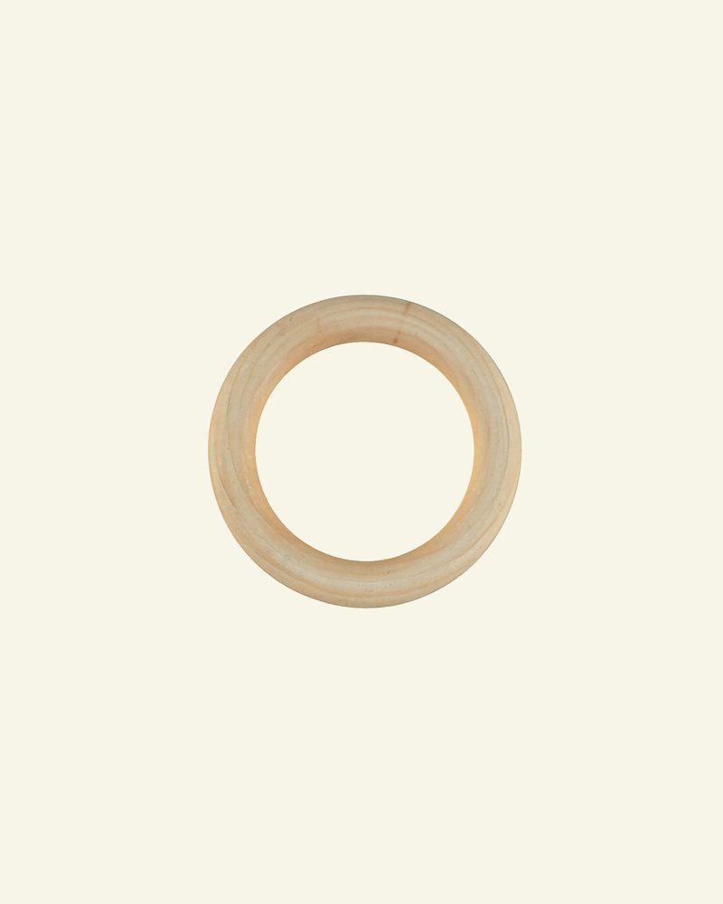Wooden ring 46/67mm 1pc