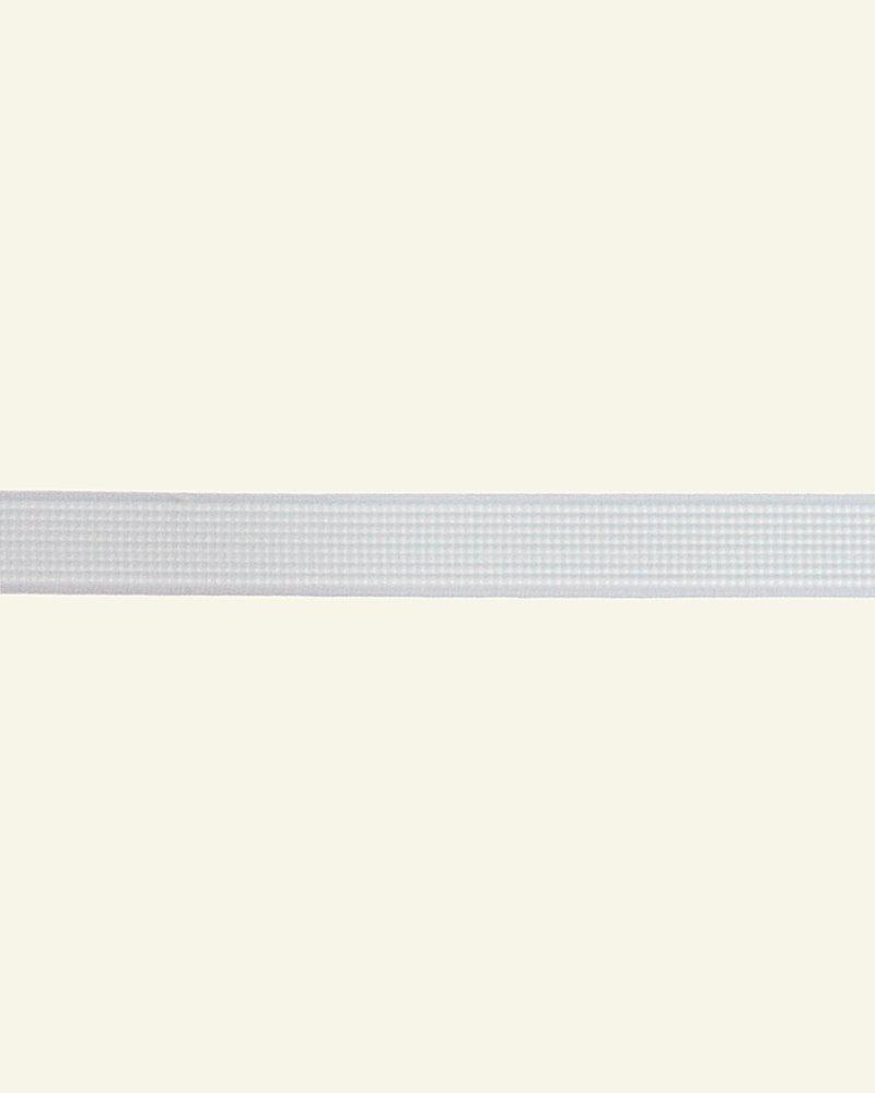 Ribbon rigilene 12mm white - by meters