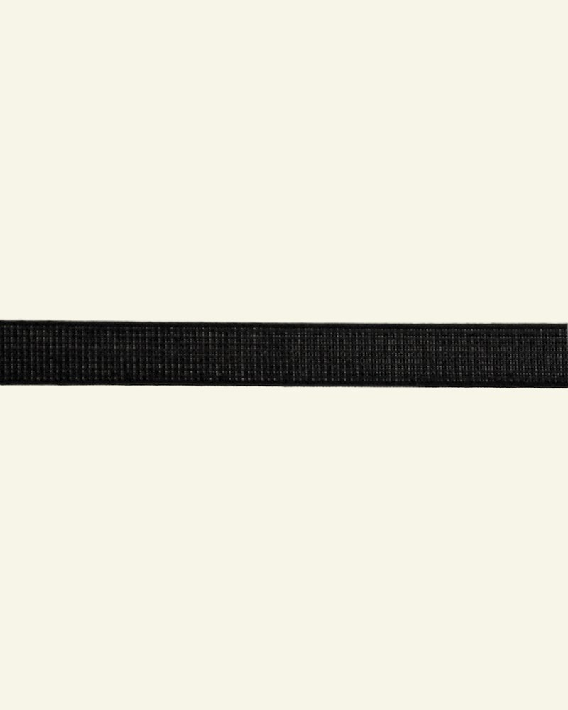 Ribbon rigilene 12mm black - by meters