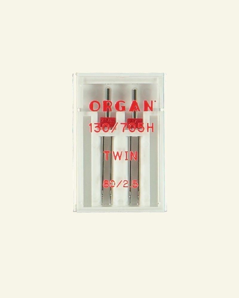 Twinneedle 2,5mm size 80 2pcs