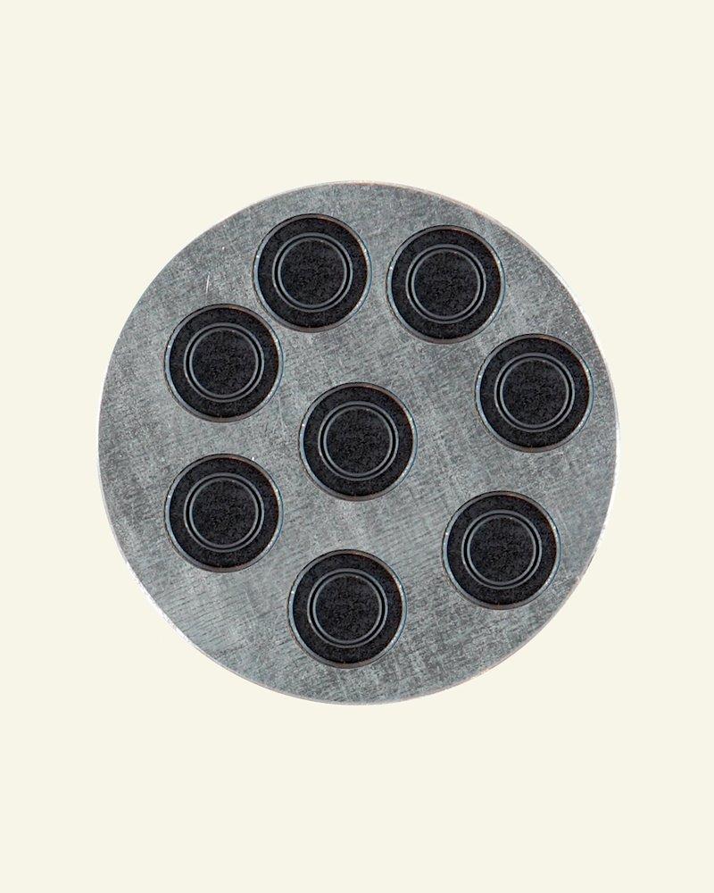 Magnet 15mm black 8pcs