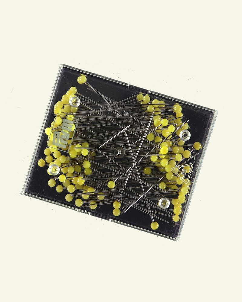 Prym pins 0.60x43mm yellow 20g