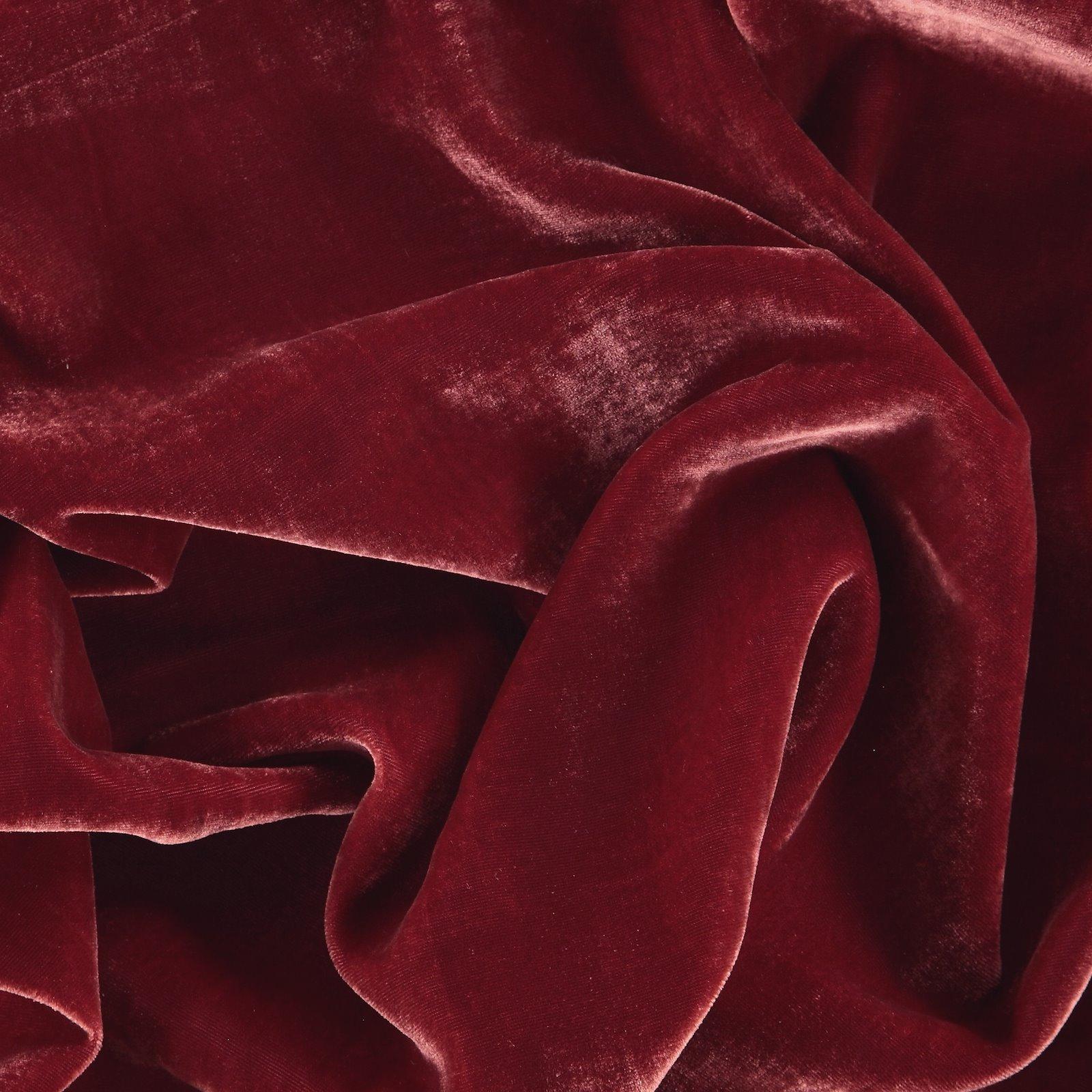 Gewebte Velours-Viskose, Rot