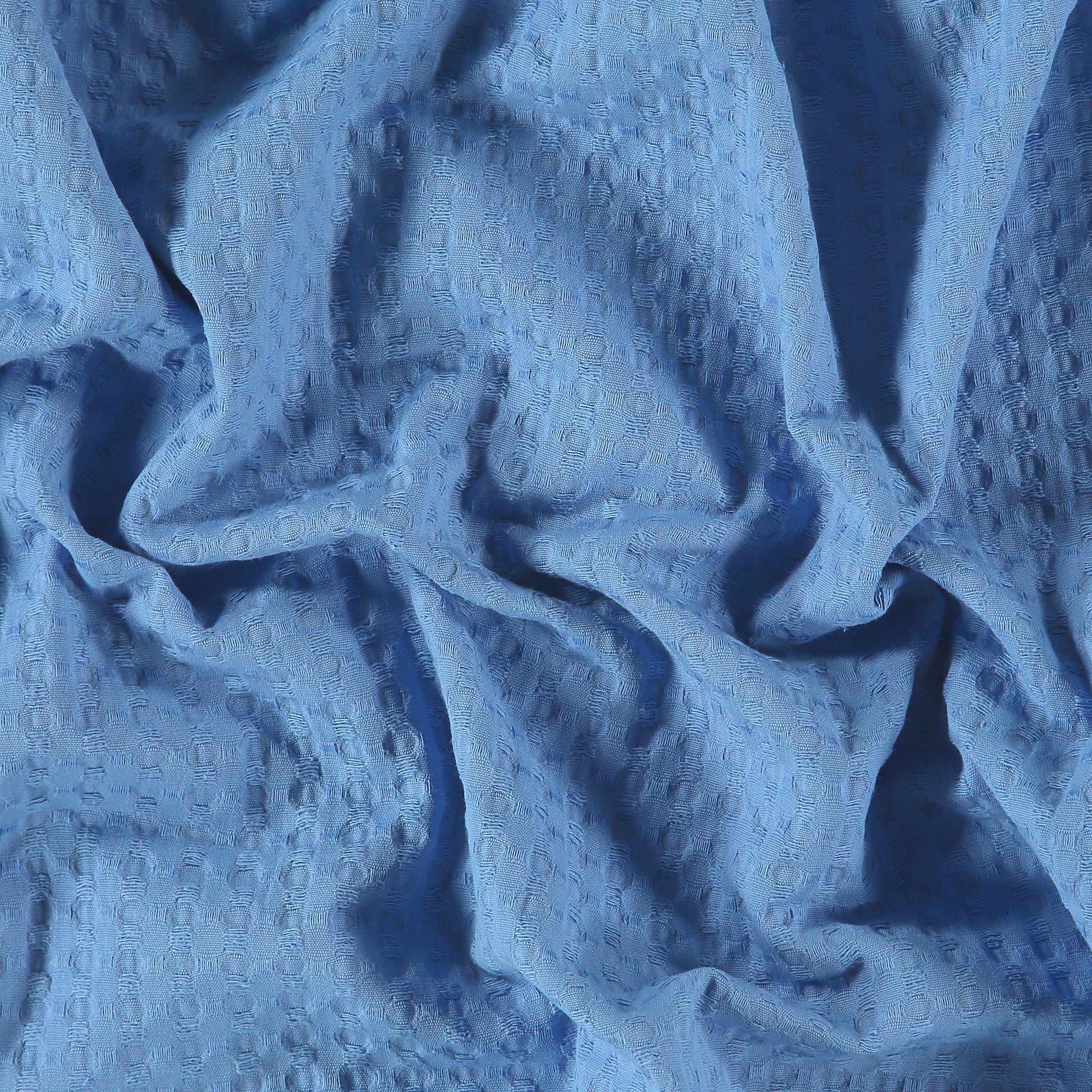 Jacquard gewebt mit Struktur, Kobaltblau
