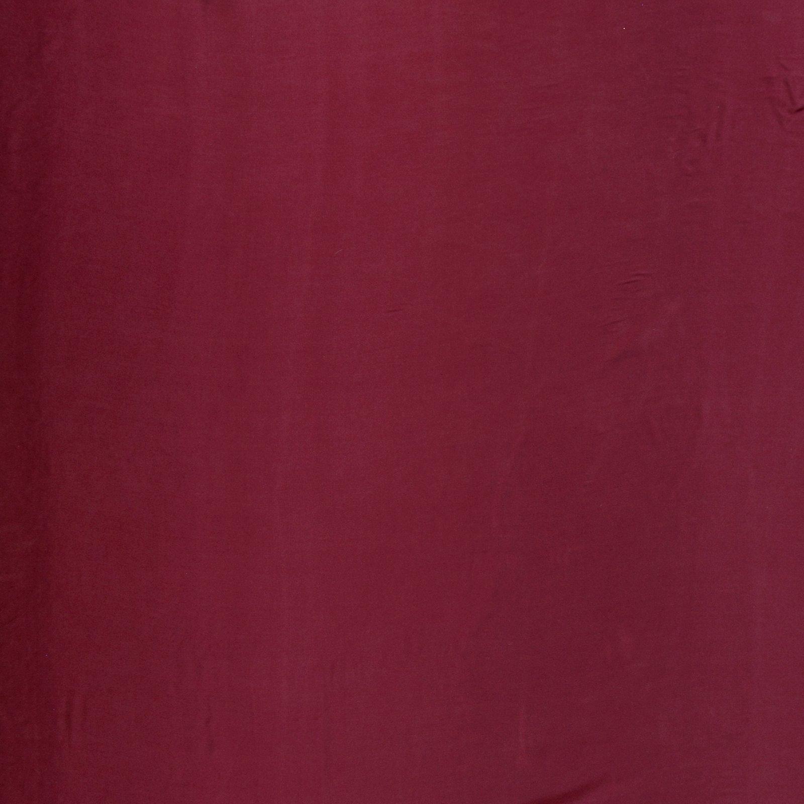 Leichte Sandgewaschen Seide Bordeaux