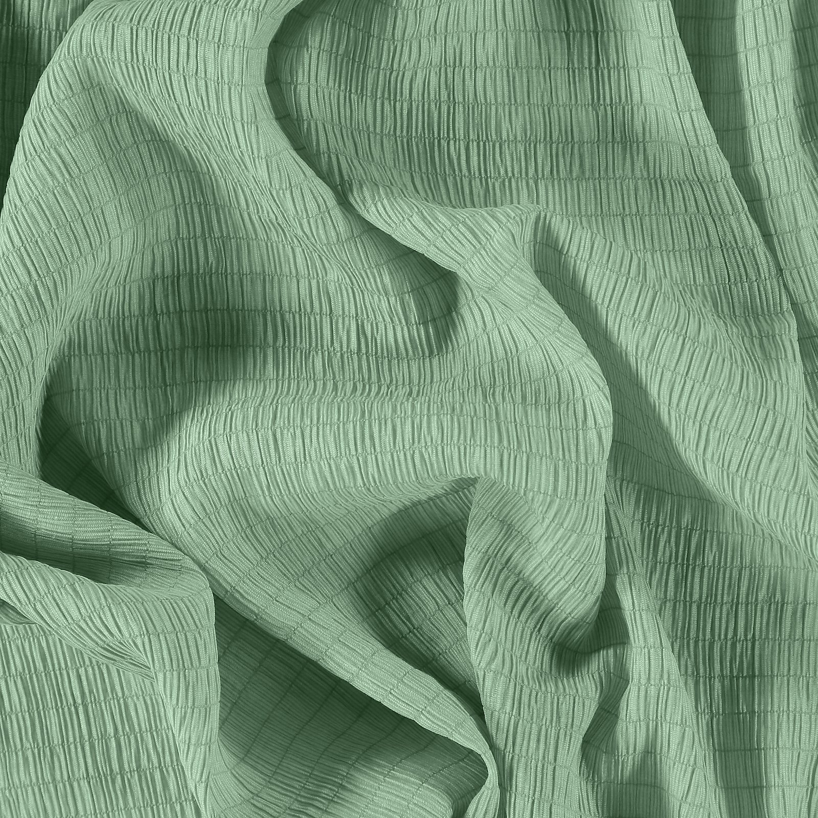 Woven viscose with smock mint