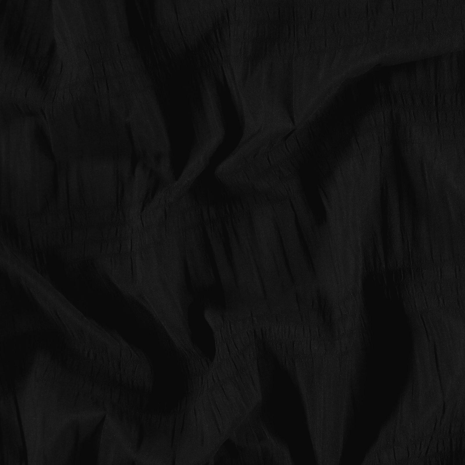 Woven smock black