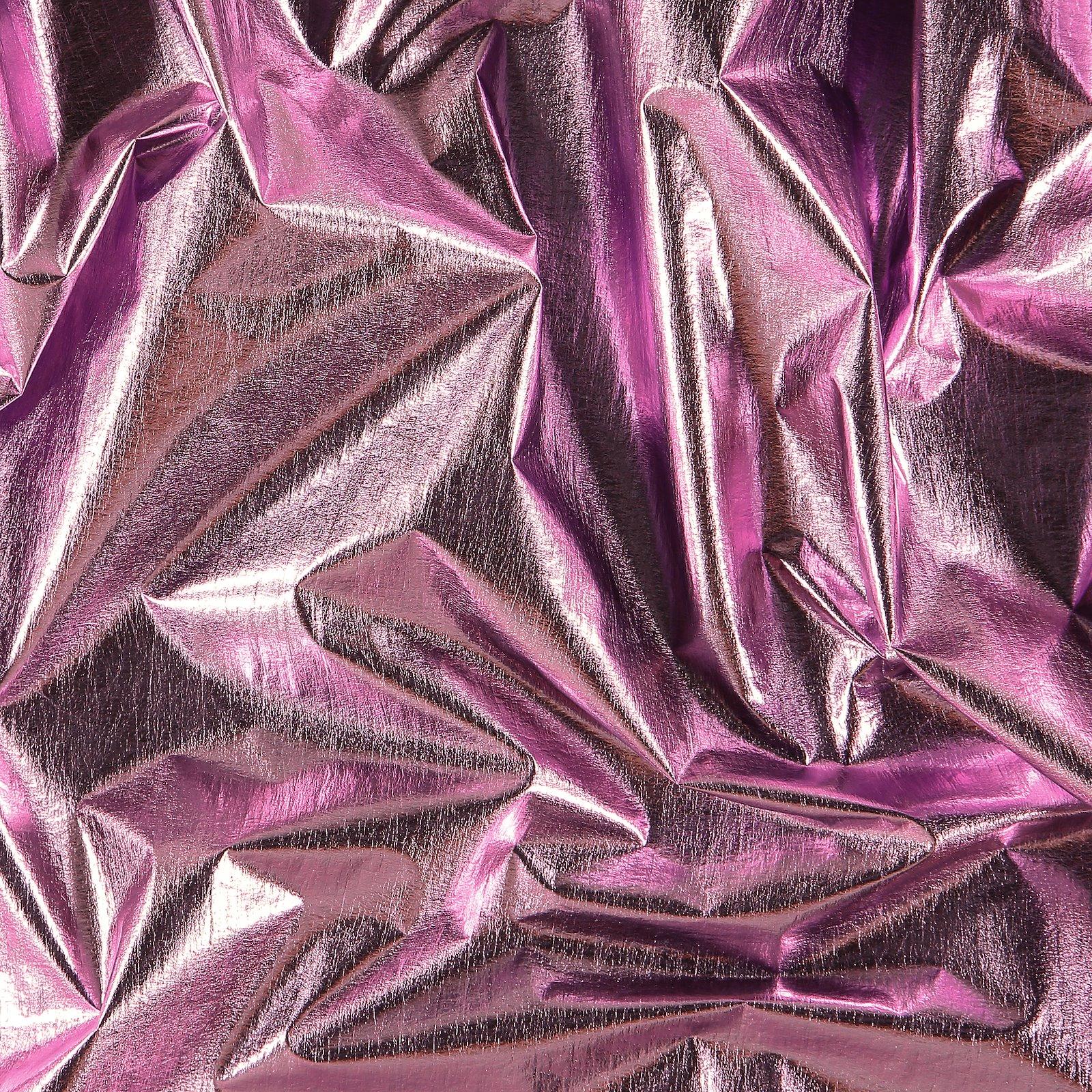 Light woven with light purple foil