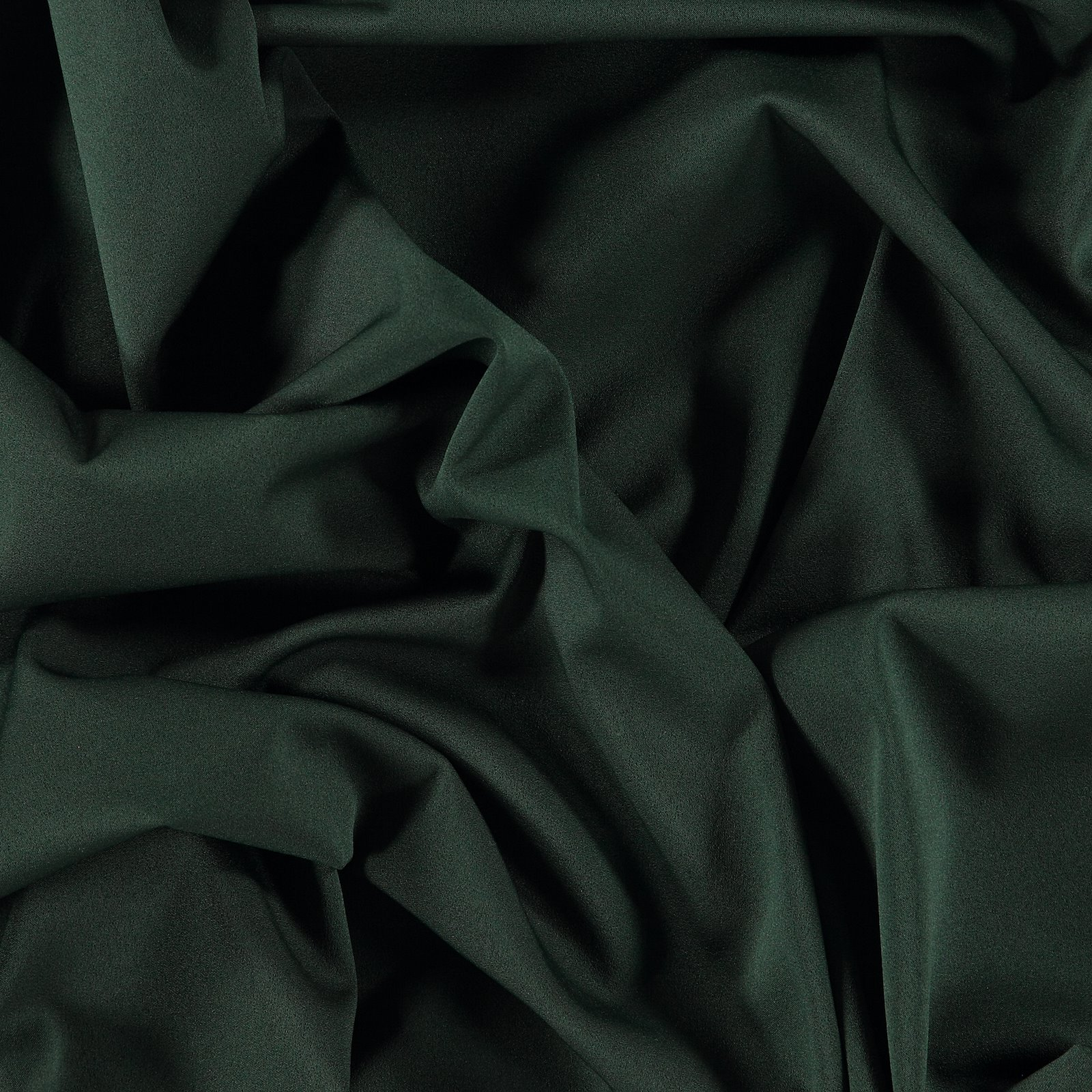 Partysatin elastisch Dunkel Flaschengrün