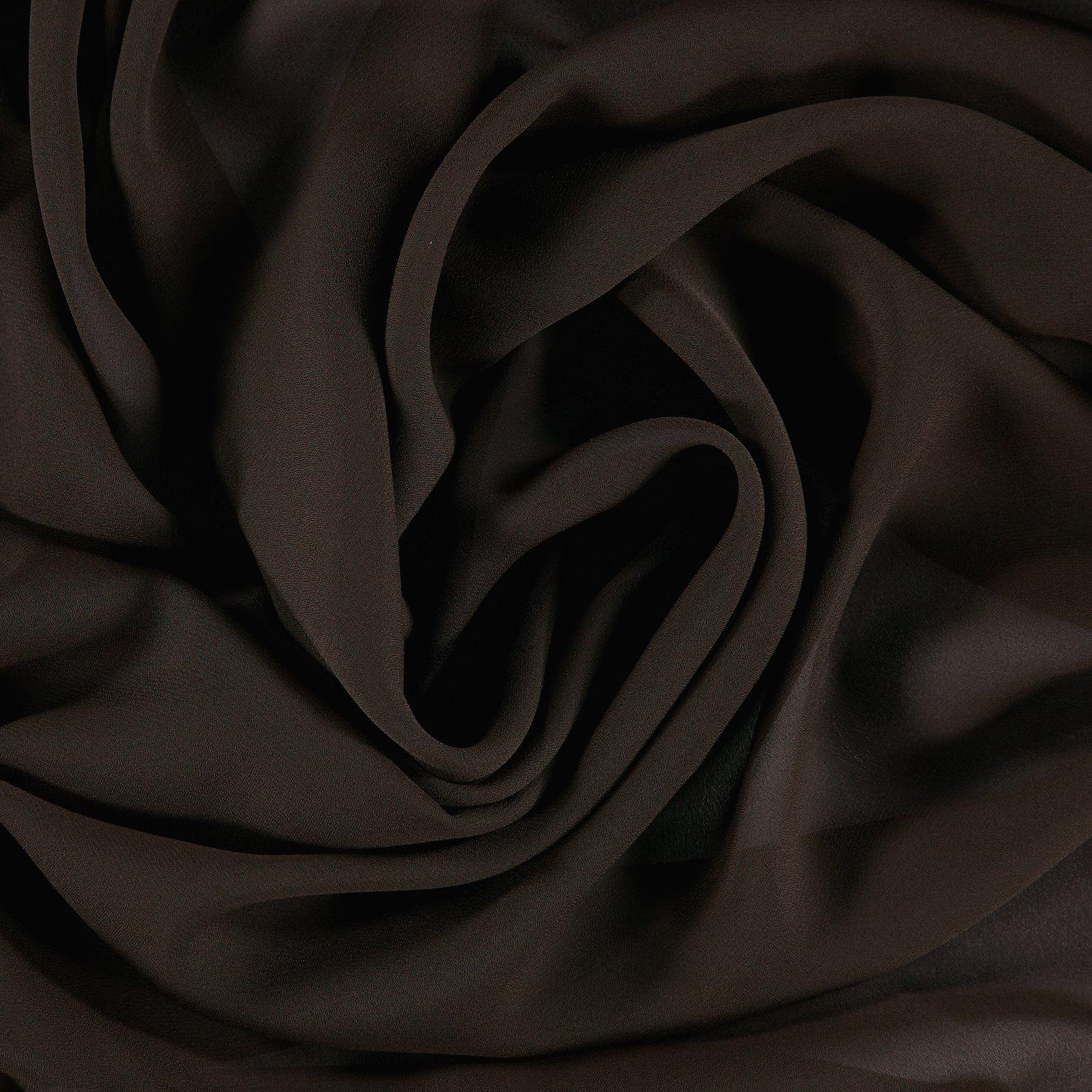Chiffon dark brown