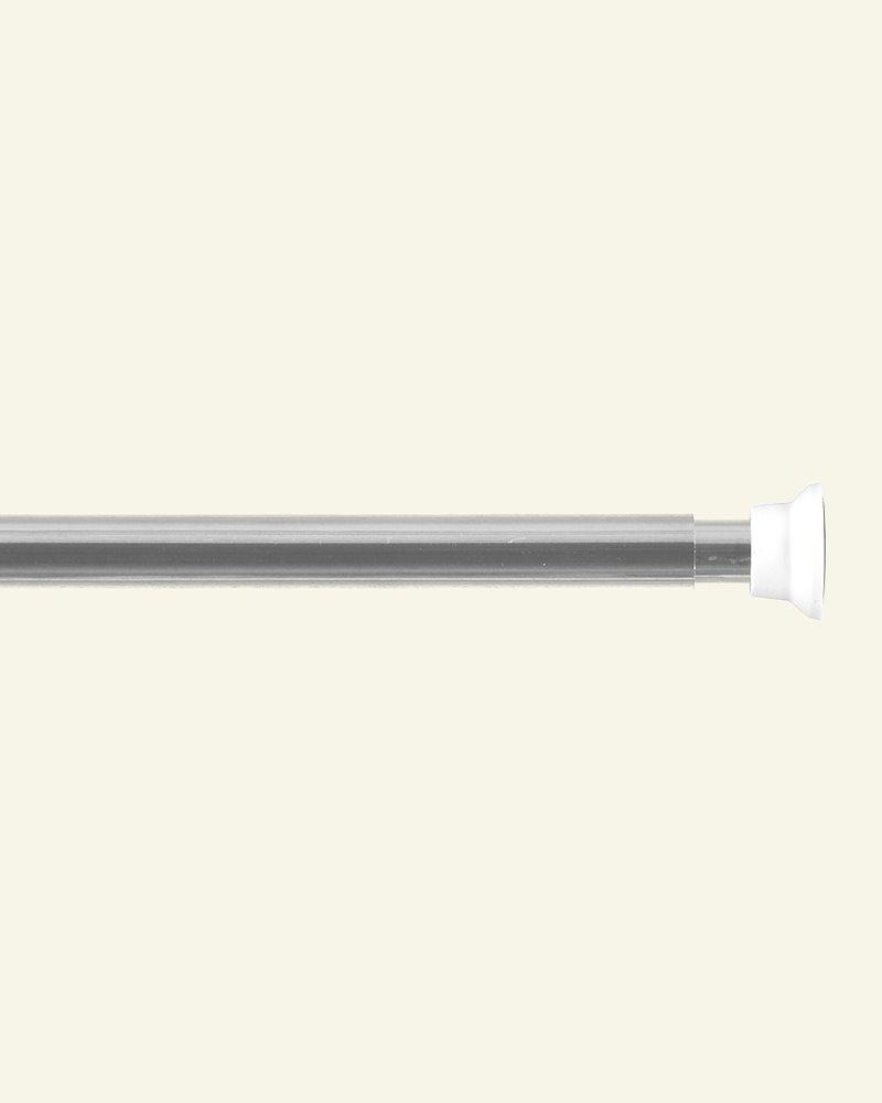 Duschvorhangstange 120-220 cm Silber