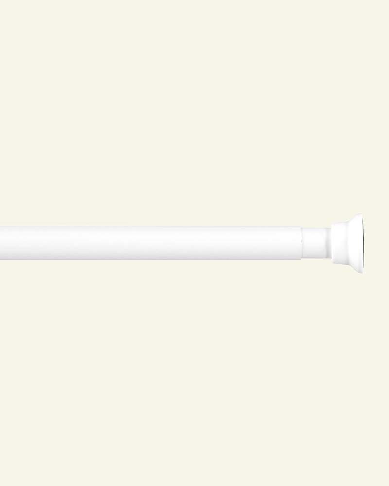 Duschvorhangstange 120-220 cm Weiss