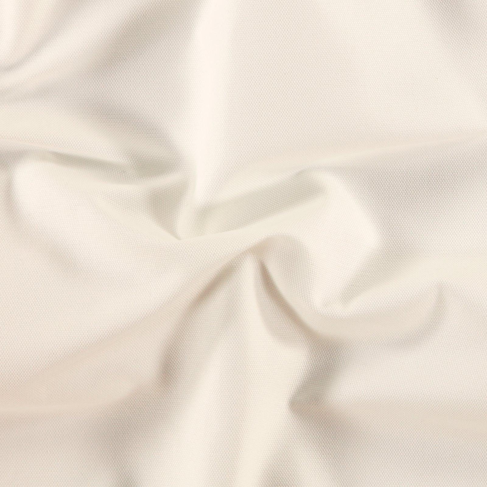 Cotton canvas off white