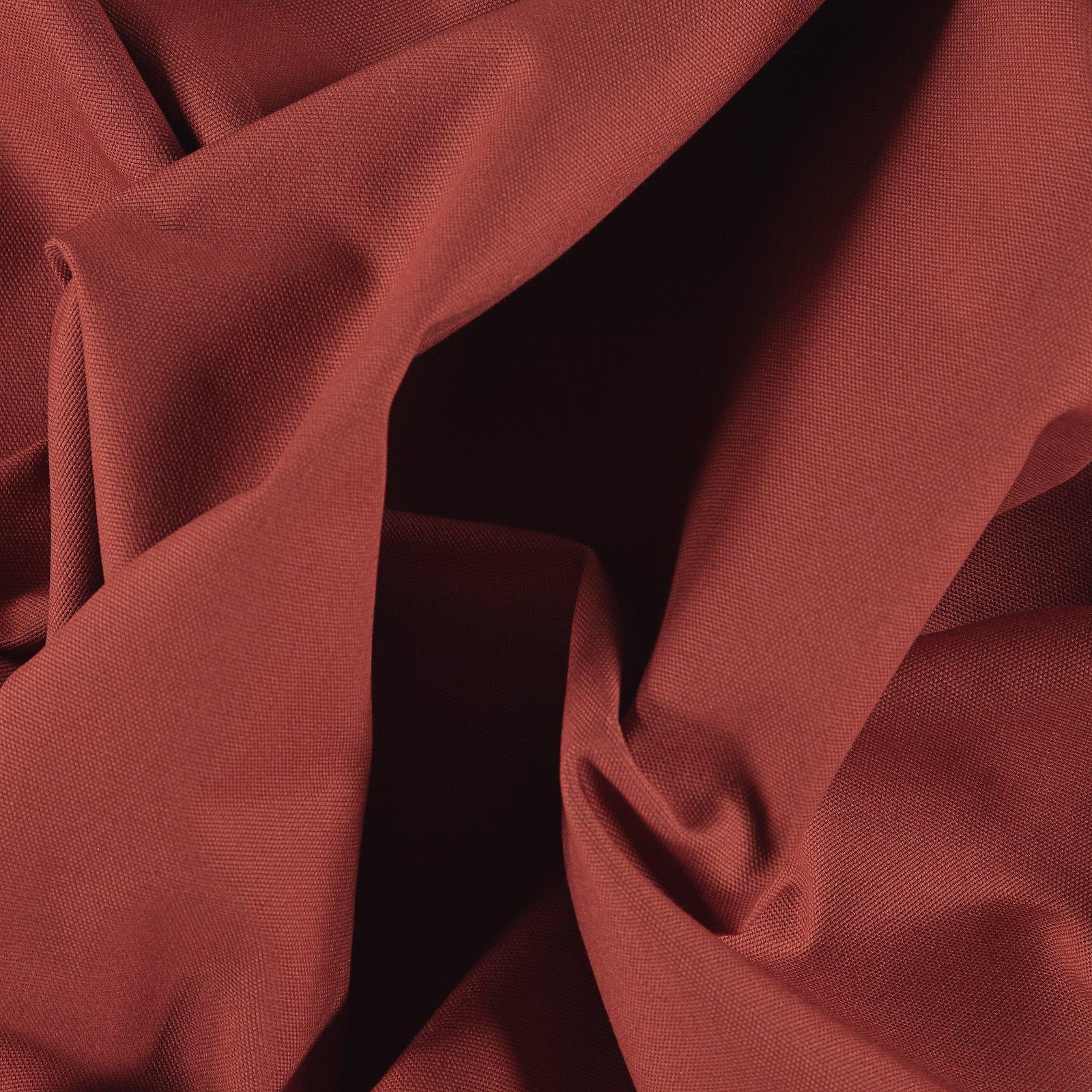 Cotton canvas rouge