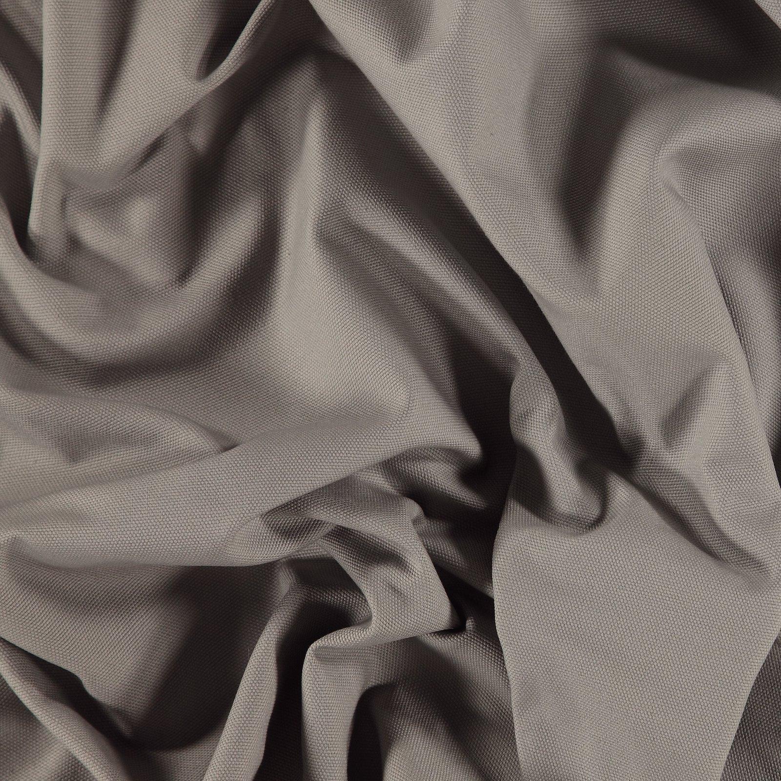 Cotton canvas grey