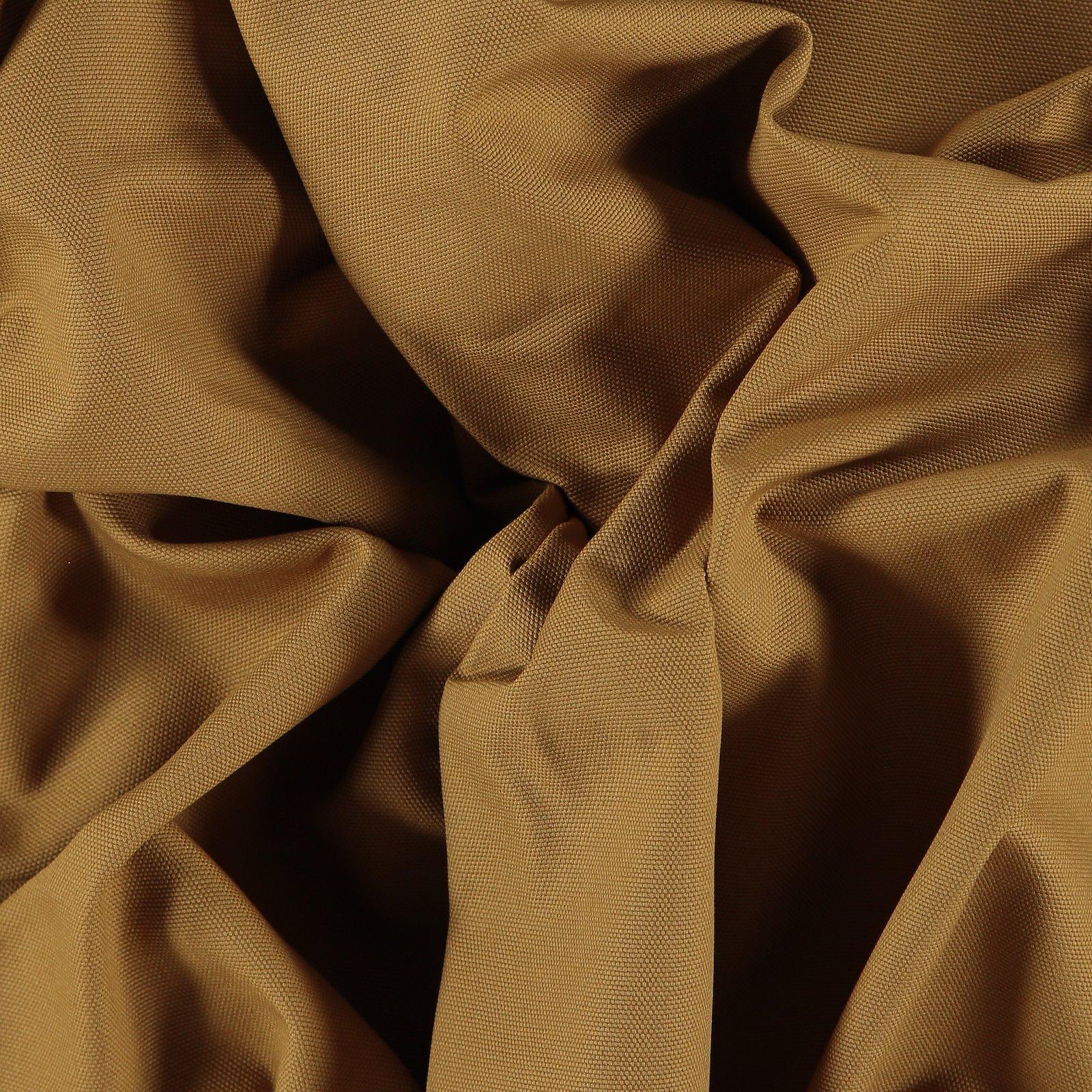 Cotton canvas light caramel